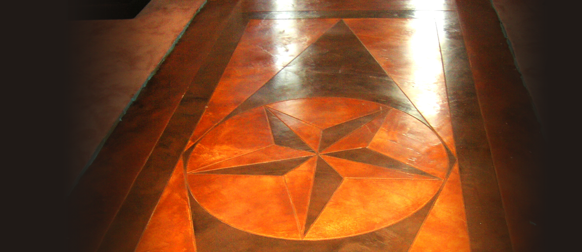 Houston Custom Stamped & Stained Concrete
