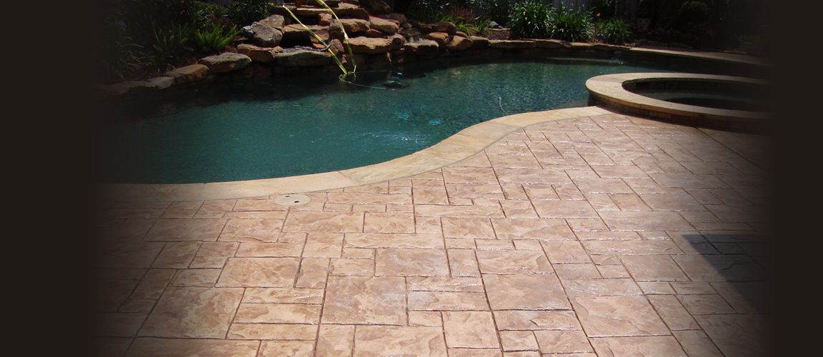 Decorative Stamped Concrete Houston